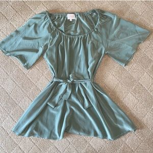 Stone Cold Fox Dress in Green